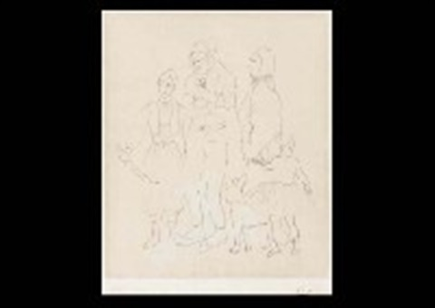 famille de saltimbanques by pablo picasso