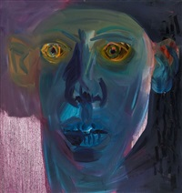 crazy face by rainer fetting