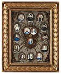 regentlängd från gustav vasa - gustaf iii by niclas lafrensen the elder