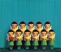 choir by liu ye
