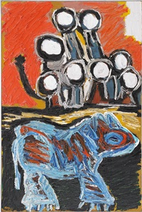 early in the morning - part 3 by karel appel