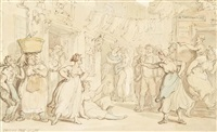 frying pan alley by thomas rowlandson