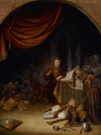 vanitas allegorie by jacob van spreeuwen