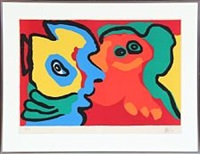 smiling in the sun by karel appel