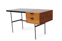 scrivania con struttura by pierre paulin