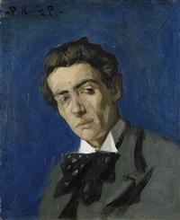 portrait d'homme, dionís renart by pablo picasso