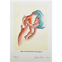 fragments of the delta of venus (9 works) by judy chicago