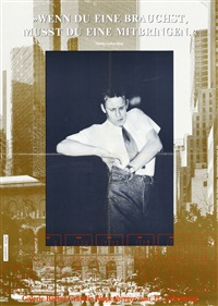 untitled (plakate) by martin kippenberger