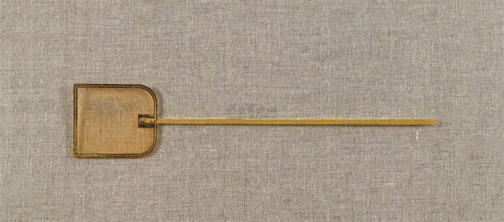 苍蝇拍 铜 fly swatter  by ai weiwei