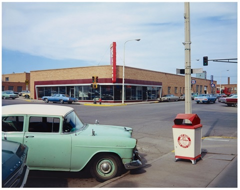 main street and 2nd ave valley city south dakota by stephen shore