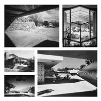 the work of frank lloyd wright (set of 20, + 2 drawings) by ezra stoller