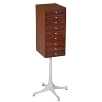 thin edge jewelry cabinet by george nelson