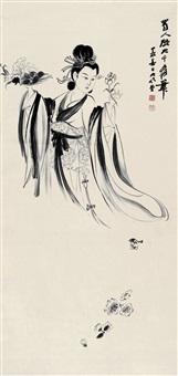 张大千(1899-1983) 天女散花 by zhang daqian