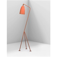 adjustable floor lamp by greta magnusson grossman