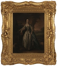 marie gunning, countess of coventry by thomas gainsborough
