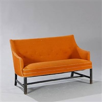 freestanding two seater sofa by frits henningsen