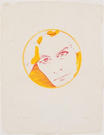 woche dalla serie di sette litografie woche by thomas schütte