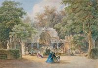 die römischen ruinen in schönbrunn by anton altmann the younger