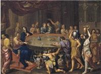 le nozze di cana by francois de sertival legrand
