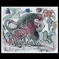 brave buffalo by jesse allen
