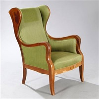 wingback chair by frits henningsen