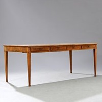 desk with profiled edges by frits henningsen
