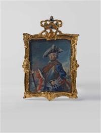 friedrich ii. von preußen als generalfeldmarschall by anton friedrich könig
