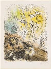 le prophète by marc chagall