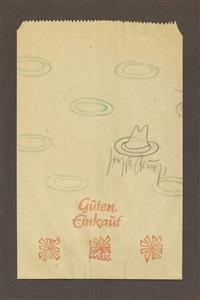 ddr-tüte (guten einkauf) 1977-80 by joseph beuys