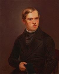 portrait eines jungen prälaten by alois koelbl
