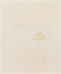 junger hase (aus: zirkulationszeit) 1982 by joseph beuys