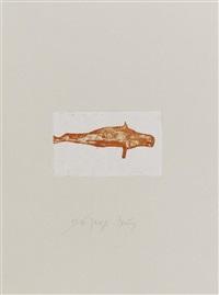 meerengel robbe 1 (aus: zirkulationszeit) 1982 by joseph beuys
