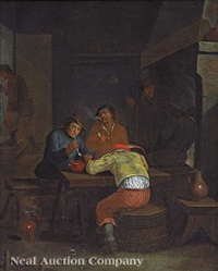 in the tavern by egbert van heemskerck the younger
