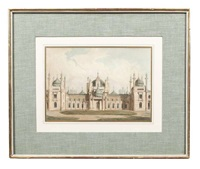 the royal pavilion at brighton (set of 14) by john nash