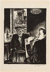 der proletarier als modell by conrad felixmüller