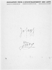 filzbriefe 1974 by joseph beuys