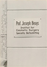 dr. speck-mutiple 1975 by joseph beuys