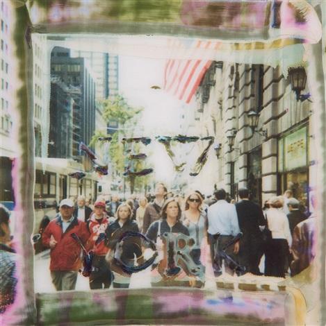 new york by maurizio galimberti
