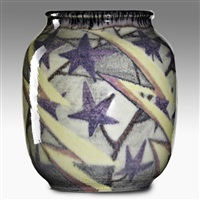 vase with stars by mary h. mcdonald