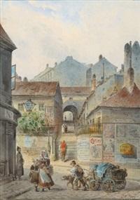 hoher steg (ratzenstadl magdalenenstraße) by johann wilhelm frey