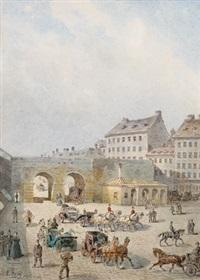 ehemaliges kärntnerthor (bis 1848) by johann wilhelm frey