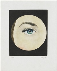 l'oeil by rené magritte