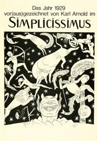 das jahr vor(aus)gezeichnet von karl arnold im simplicissimus (14 works) by karl august arnold