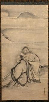 three saints by kano yasunobu