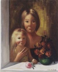 mother and child by jaime de jaraiz