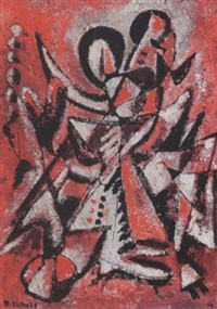 dancing figures by herbert ziebolz