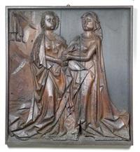 maria begrüßt elisabeth by hans klocker