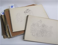 the first book with 20 sketches by edward burns quigley
