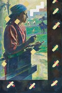 mädchen mit waage by ilya kabakov