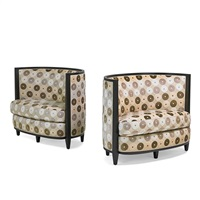 clair du jour chairs (pair) by andree putman